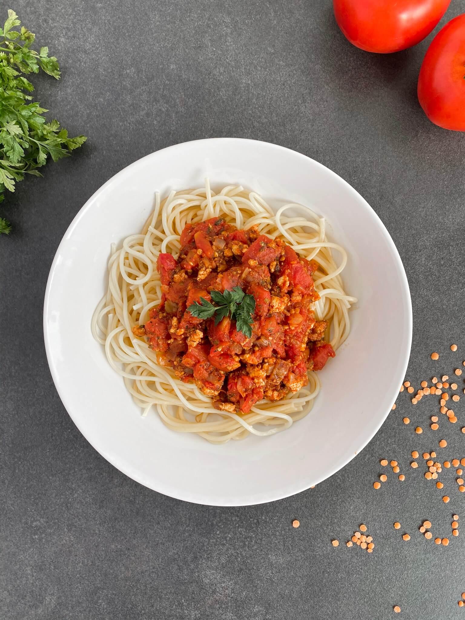 Spaghetti-Spaghettiztofu